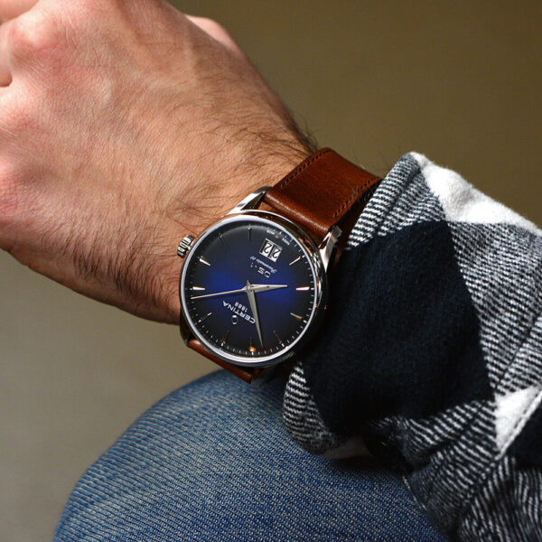 Мужские наручные часы CERTINA Urban DS-1 Big Date Powermatic 80 C029.426.16.041.00 - Фото № 11