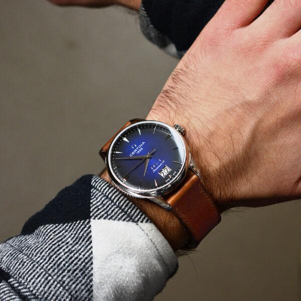 Мужские наручные часы CERTINA Urban DS-1 Big Date Powermatic 80 C029.426.16.041.00 - Фото № 9