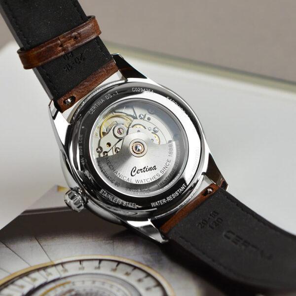 Мужские наручные часы CERTINA Urban DS-1 Big Date Powermatic 80 C029.426.16.041.00 - Фото № 13