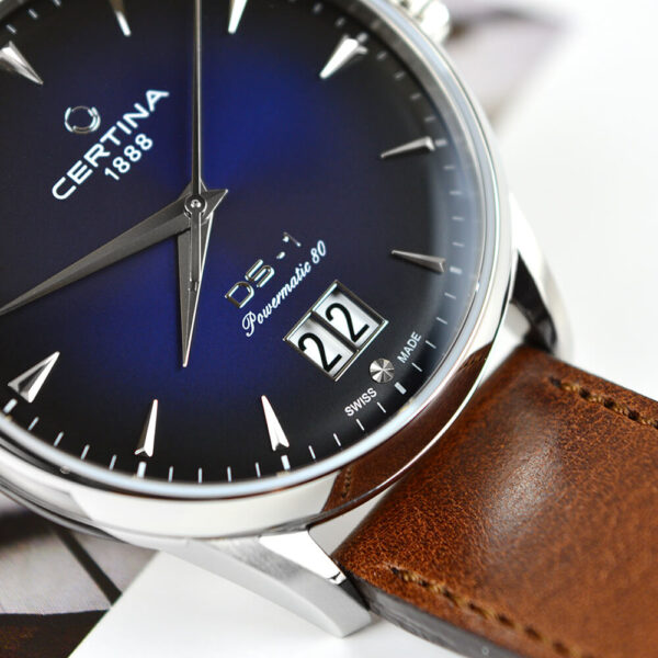 Мужские наручные часы CERTINA Urban DS-1 Big Date Powermatic 80 C029.426.16.041.00 - Фото № 12