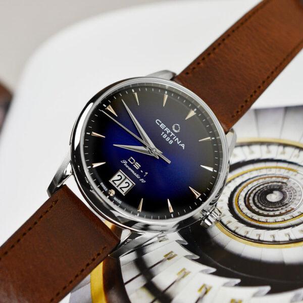 Мужские наручные часы CERTINA Urban DS-1 Big Date Powermatic 80 C029.426.16.041.00 - Фото № 10