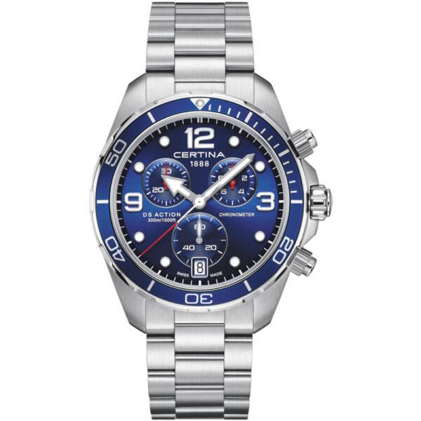 Мужские наручные часы CERTINA Aqua DS Action Chronograph C032.434.11.047.00