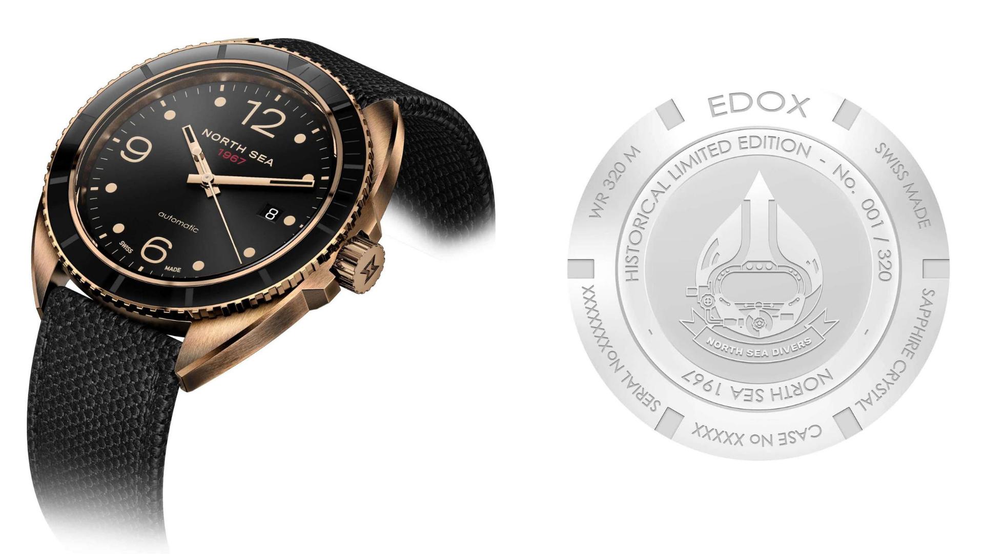 Edox North Sea 1967 Automatic Limited Edition