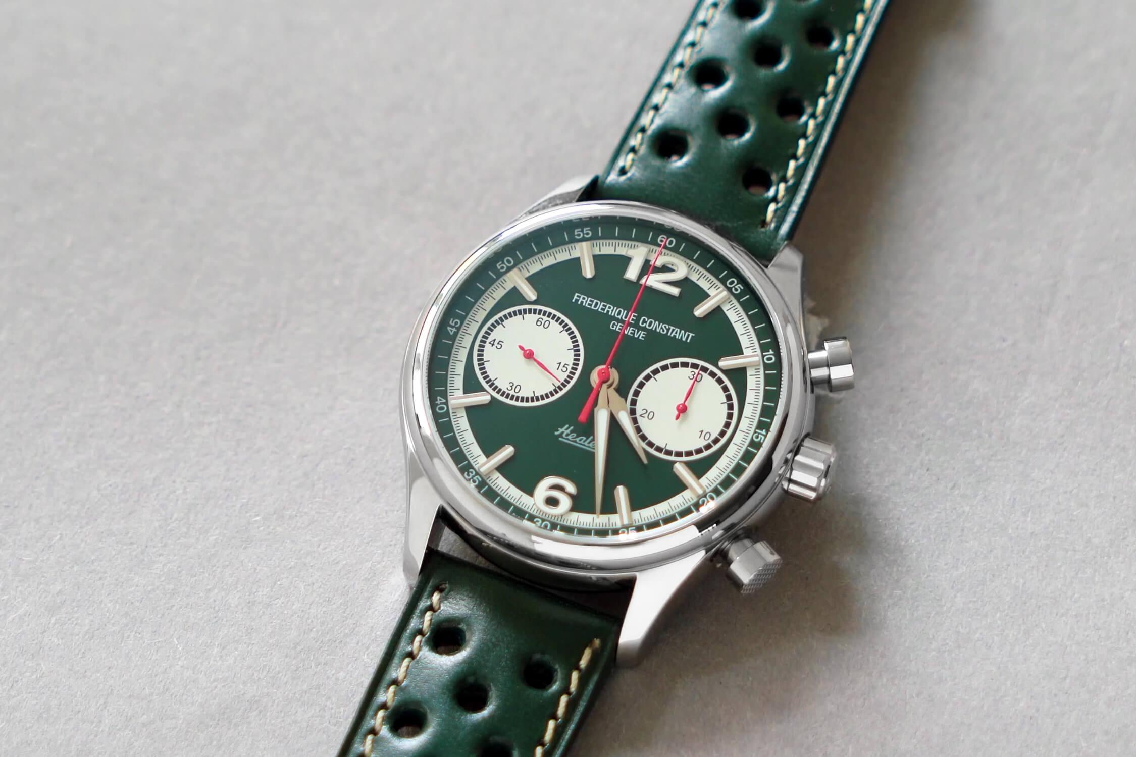 фредерик констант vintage rally healey chronograph automatic