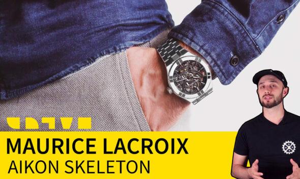 maurice lacroix aikon manufacture automatic skeleton AI6028 SS002
