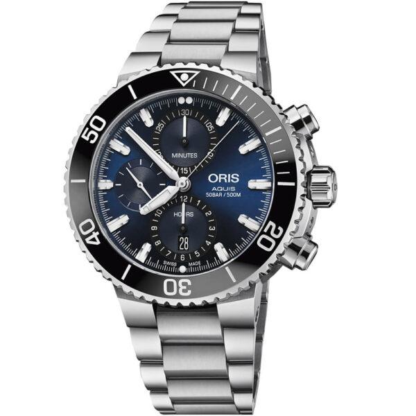Мужские наручные часы ORIS AQUIS 01 774 7743 4155-07 8 24 05PEB