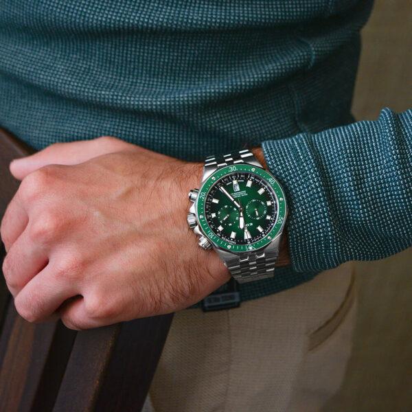 Мужские наручные часы EDOX Delfin 10109 3VM VIN - Фото № 8