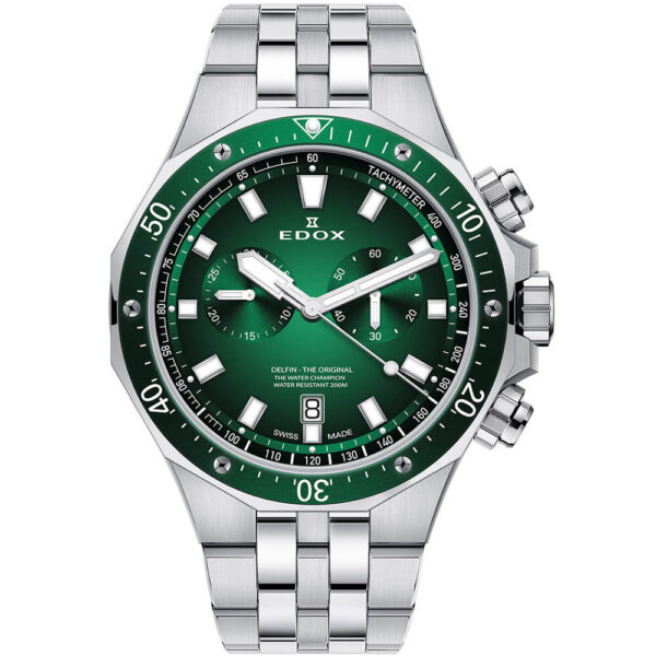 Мужские наручные часы EDOX Delfin 10109 3VM VIN - Фото № 5