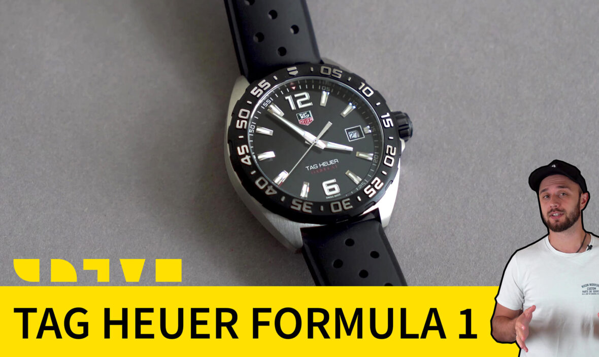 tag heuer formula 1 WAZ1110.FT8023