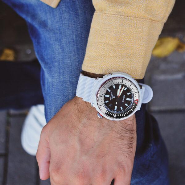 Мужские наручные часы SEIKO Prospex Tuna Street Series SNE545P1 - Фото № 13
