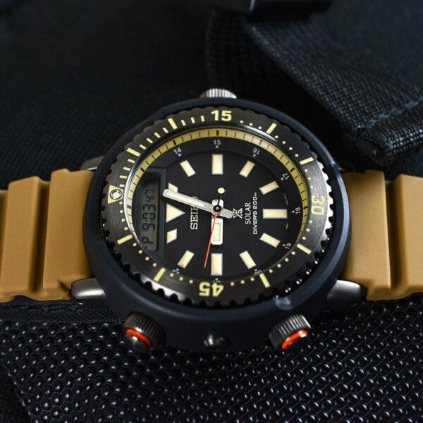 Мужские наручные часы SEIKO Prospex Arnie Urban Safari SNJ029P1 - Фото № 14