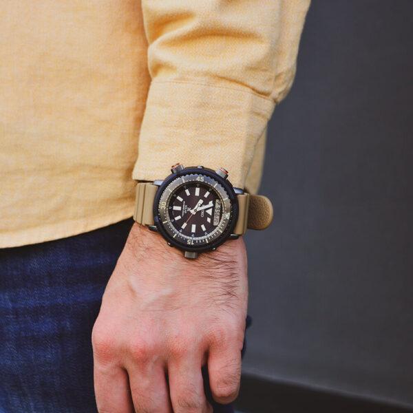 Мужские наручные часы SEIKO Prospex Arnie Urban Safari SNJ029P1 - Фото № 13