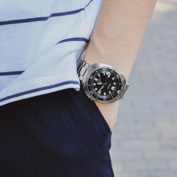Мужские наручные часы SEIKO Prospex Captain Willard SPB151J1 - Фото № 11