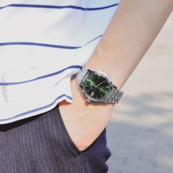 Мужские наручные часы SEIKO Presage Cocktail Time Mockingbird SRPE15J1 - Фото № 8
