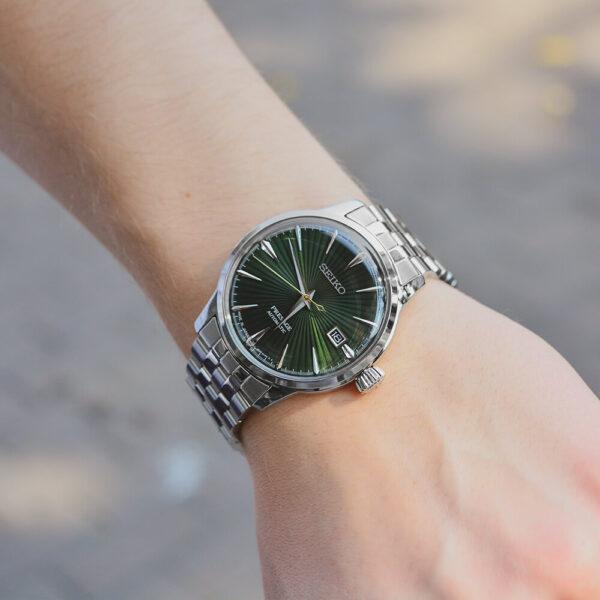 Мужские наручные часы SEIKO Presage Cocktail Time Mockingbird SRPE15J1 - Фото № 7
