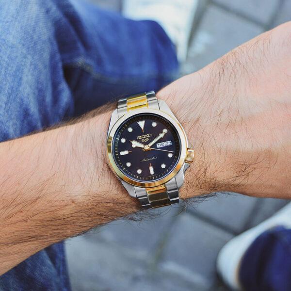 Мужские наручные часы SEIKO Seiko 5 SRPE60K1 - Фото № 10