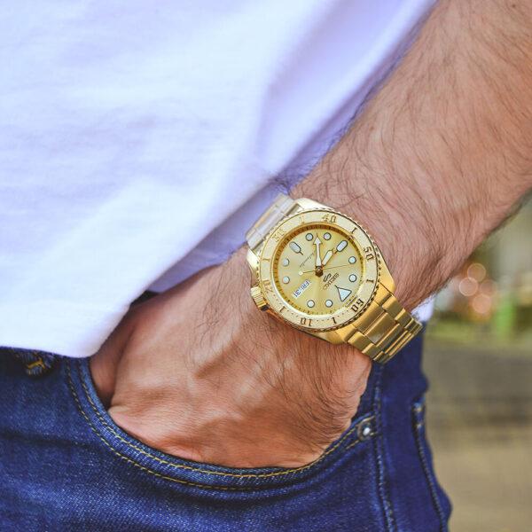 Мужские наручные часы SEIKO Seiko 5 SRPE74K1 - Фото № 10