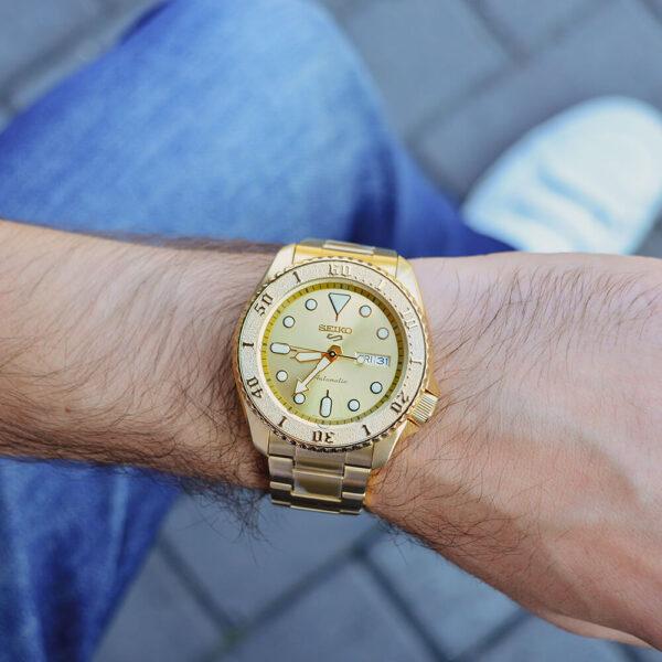 Мужские наручные часы SEIKO Seiko 5 SRPE74K1 - Фото № 12