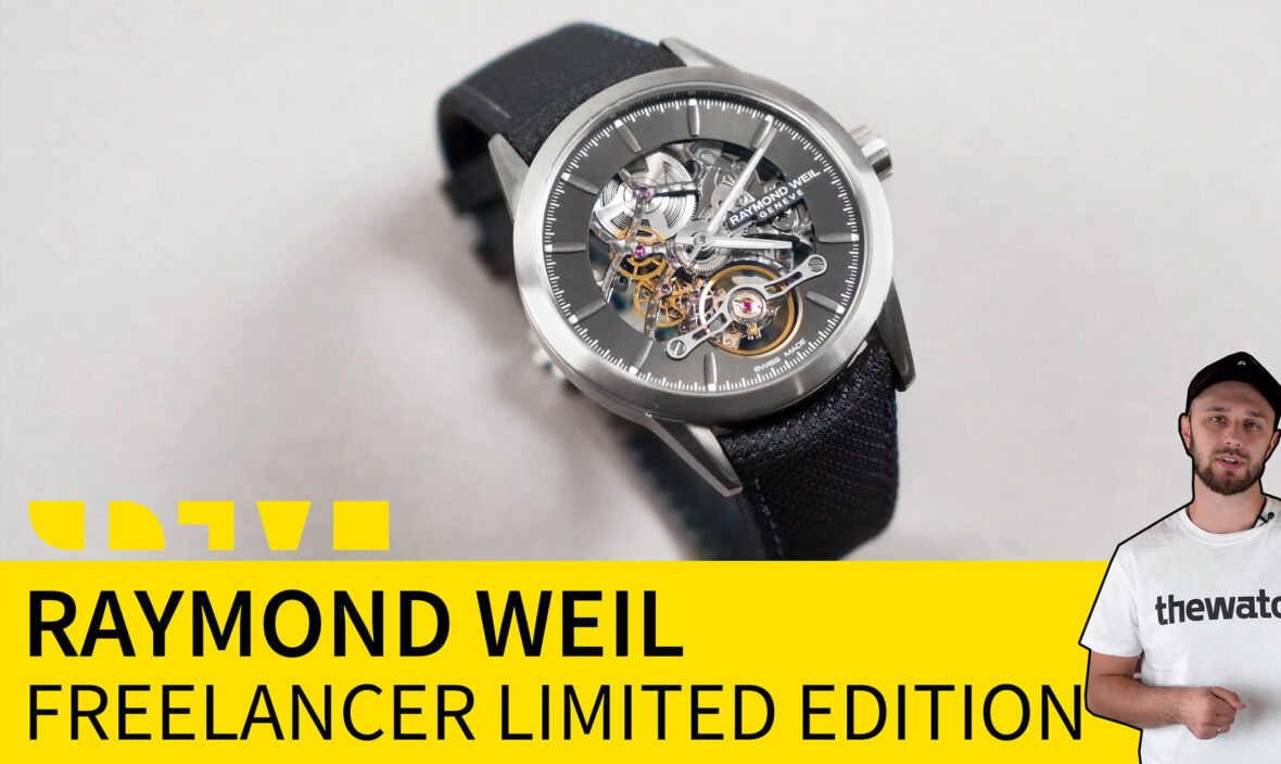 raymond weil freelancer limited edition