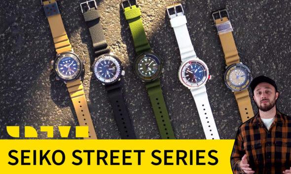 seiko prospex street series
