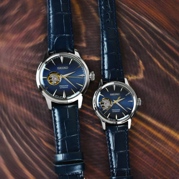 Женские наручные часы SEIKO Presage Cocktail Time Blue Moon SSA785J1 - Фото № 8