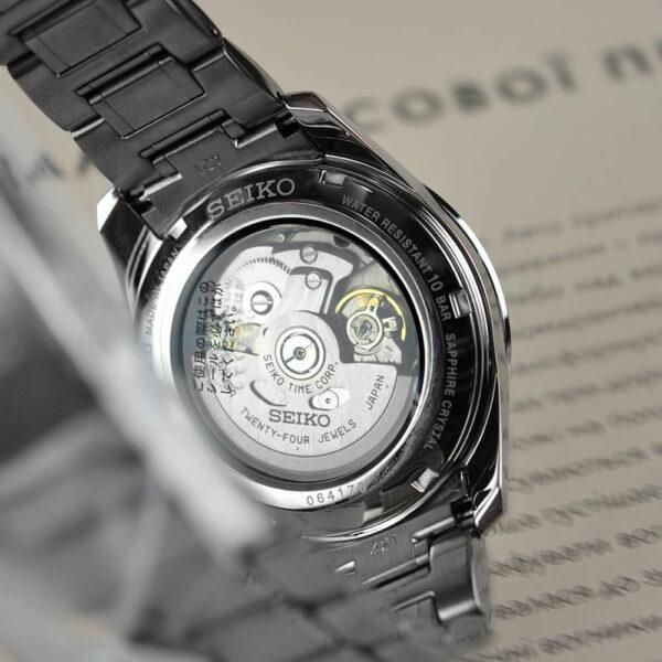 Мужские наручные часы SEIKO Presage Sharp Edged Shironeri SPB165J1 - Фото № 12