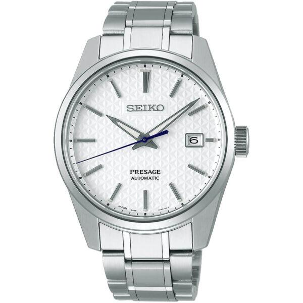 Мужские наручные часы SEIKO Presage Sharp Edged Shironeri SPB165J1 - Фото № 7