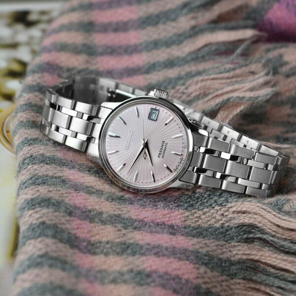 Женские наручные часы SEIKO Presage Cocktail Time Cosmopolitan SRP839J1 - Фото № 12