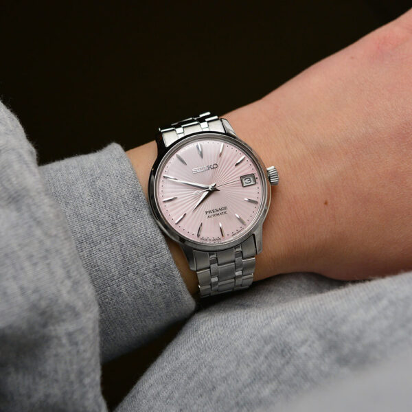 Женские наручные часы SEIKO Presage Cocktail Time Cosmopolitan SRP839J1 - Фото № 11