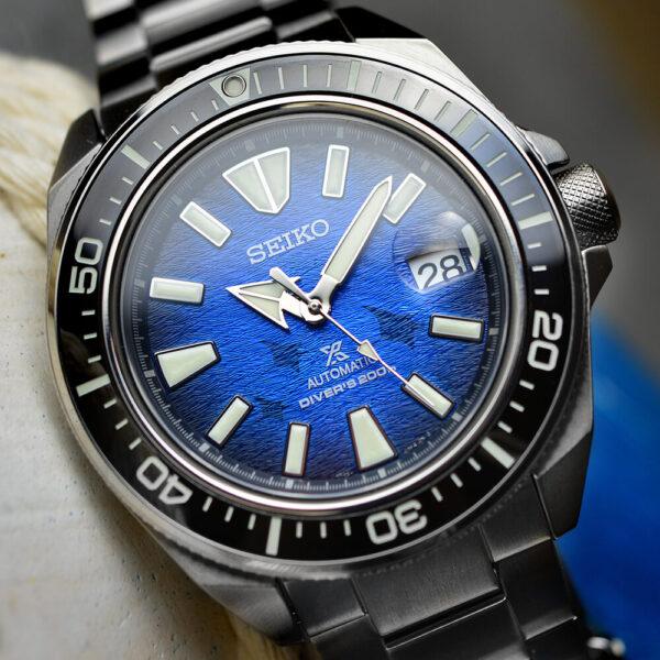 Мужские наручные часы SEIKO Prospex King Samurai Save the Ocean Manta Ray SRPE33K1 - Фото № 11