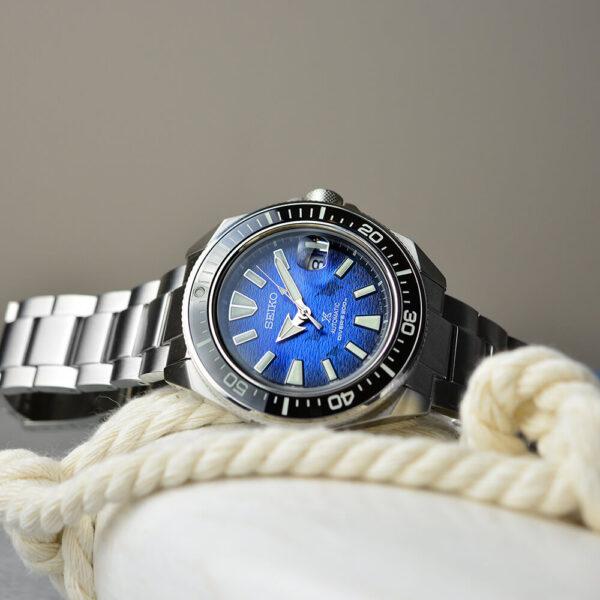 Мужские наручные часы SEIKO Prospex King Samurai Save the Ocean Manta Ray SRPE33K1 - Фото № 16