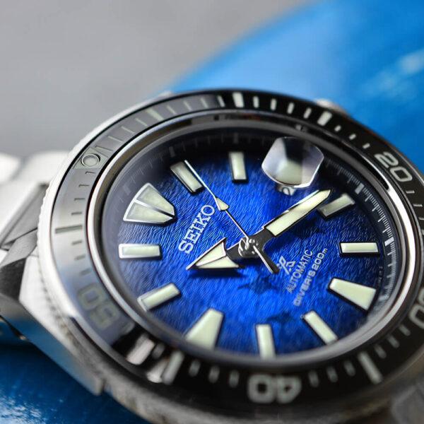 Мужские наручные часы SEIKO Prospex King Samurai Save the Ocean Manta Ray SRPE33K1 - Фото № 14