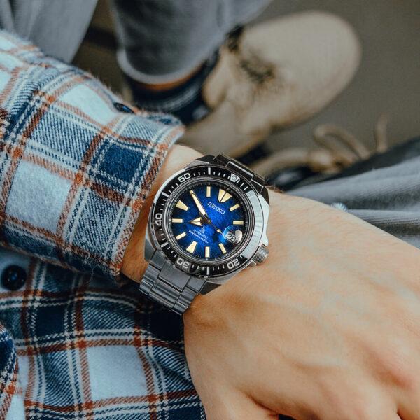 Мужские наручные часы SEIKO Prospex King Samurai Save the Ocean Manta Ray SRPE33K1 - Фото № 12