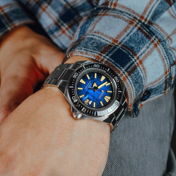 Мужские наручные часы SEIKO Prospex King Samurai Save the Ocean Manta Ray SRPE33K1 - Фото № 15