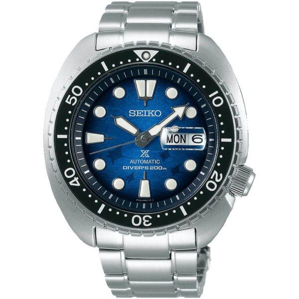 Мужские наручные часы SEIKO Prospex King Turtle Save the Ocean Manta Ray SRPE39K1 - Фото № 5