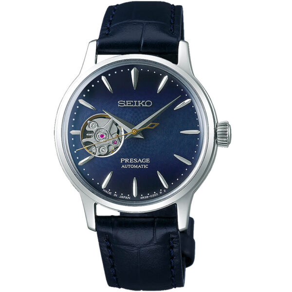 Женские наручные часы SEIKO Presage Cocktail Time Blue Moon SSA785J1 - Фото № 5