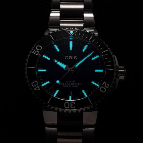 Мужские наручные часы ORIS AQUIS 01 733 7766 4135-07 8 22 05PEB - Фото № 11