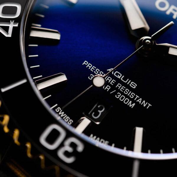 Мужские наручные часы ORIS AQUIS 01 733 7766 4135-07 8 22 05PEB - Фото № 9