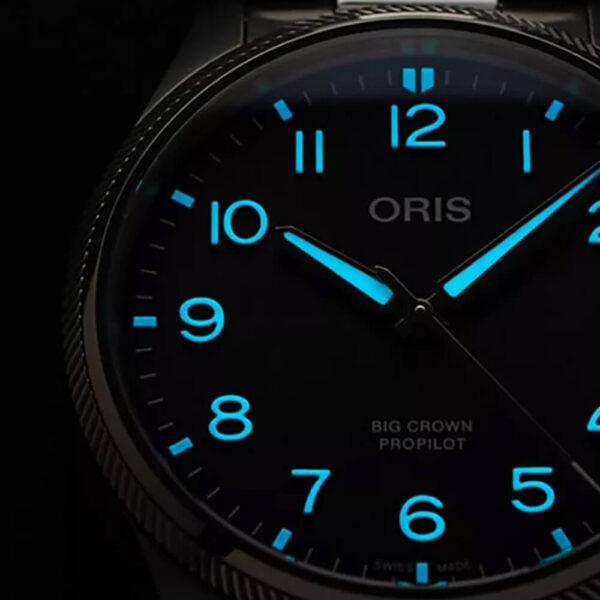 Мужские наручные часы ORIS BIG CROWN 01 751 7761 4065-07 3 20 05LC