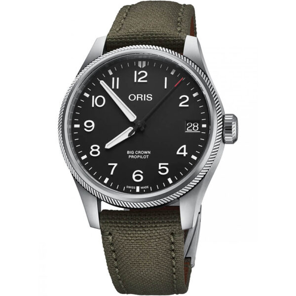Мужские наручные часы ORIS BIG CROWN 01 751 7761 4164-07 3 20 03LC