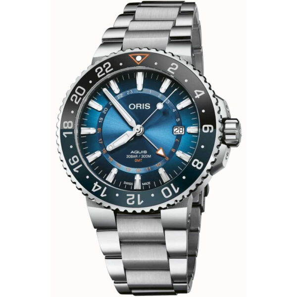 Мужские наручные часы ORIS AQUIS Carysfort Reef Limited Edition 01 798 7754 4185-Set MB - Фото № 5