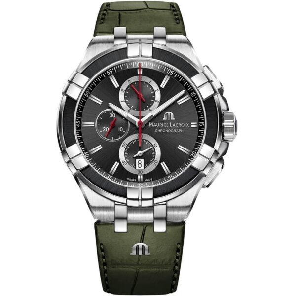 Мужские наручные часы MAURICE LACROIX Chronograph Aikon AI1018-PVB21-330-1
