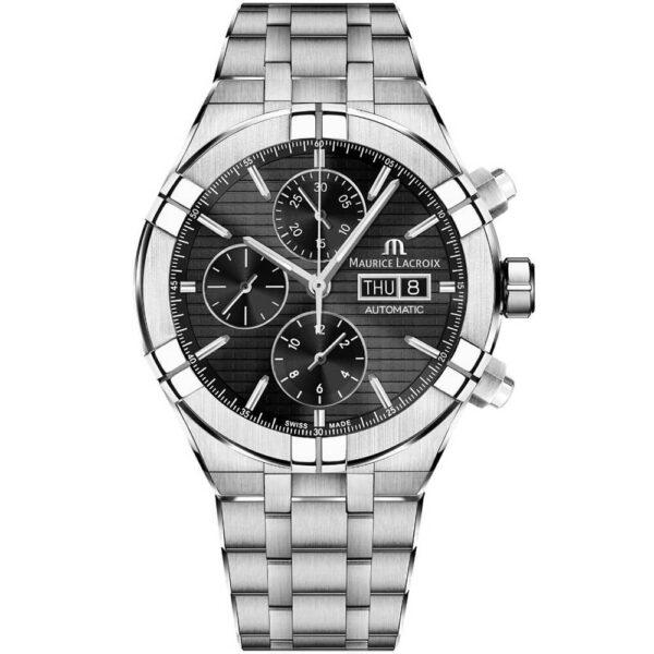 Мужские наручные часы MAURICE LACROIX Aikon Automatic Chronograph AI6038-SS002-330-2 - Фото № 6