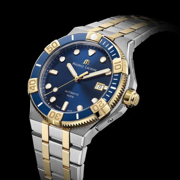 Мужские наручные часы MAURICE LACROIX Aikon Venturer AI6058-SY013-430-1 - Фото № 6