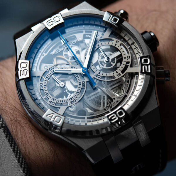 Мужские наручные часы MAURICE LACROIX Aikon AI6098-SS001-090-1 - Фото № 7