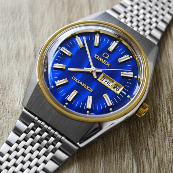 Мужские наручные часы Timex Q Falcon Eye Tx2t80800 - Фото № 11