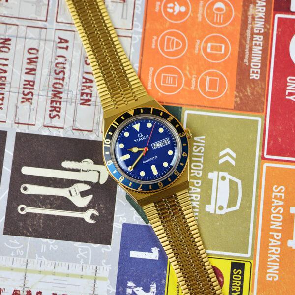 Мужские наручные часы Timex Q Tx2u61400 - Фото № 10