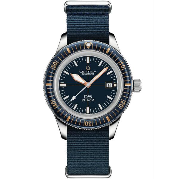 Мужские наручные часы CERTINA Aqua DS PH200M Powermatic 80 C036.407.18.040.00 - Фото № 8