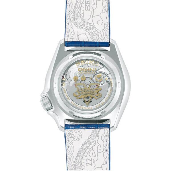 Мужские наручные часы SEIKO Seiko 5 x STREET FIGHTER V Chun-Li Limited Edition SRPF17K1 - Фото № 8