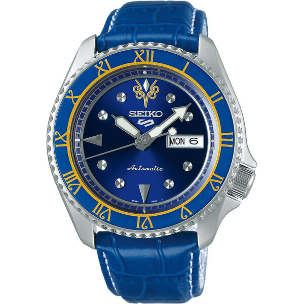 Мужские наручные часы SEIKO Seiko 5 x STREET FIGHTER V Chun-Li Limited Edition SRPF17K1 - Фото № 5